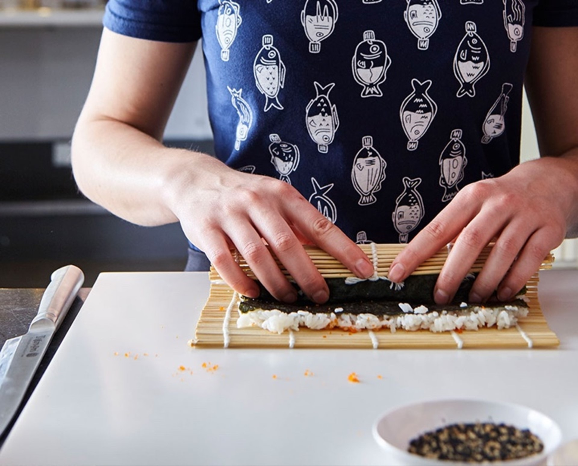 Learn to sushi